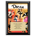 Dance Award Plaque - Black