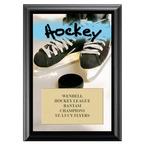 Hockey Award Plaque - Black
