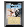 Skating  Award Plaque - Black