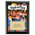 Track Award Plaque - Black