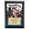 Wrestling Award Plaque - Black