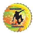 Birchwood Custom Shape Sports Award Plaque