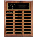 Walnut Perpetual Sports Award Plaque