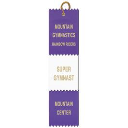 3 Layered Pinked Top Award Ribbon