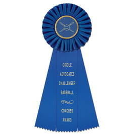Newport Sports Rosette Award Ribbon