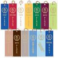 Stock Victory Torch Square Top Sports Award Ribbon