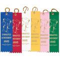 Stock Gymnastics Achievement Award Ribbon