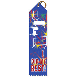 I Did My Best Sports Award Ribbon