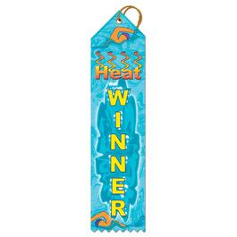 Heat Winner Sports Award Ribbon