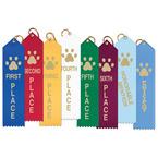 Paw Print Place Sports Award Ribbon