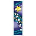 Stock Star Gymnast Award Ribbon