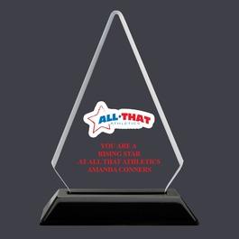 Arrowhead Acrylic Sports Award Trophy