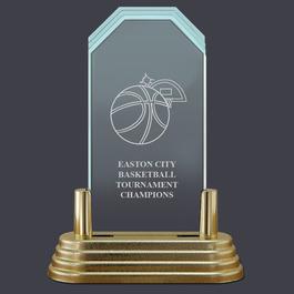 Pop-In™ Jade Acrylic Sports Award Trophy