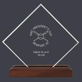 Diamond Acrylic Sports Award Trophy