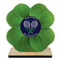 Birchwood Clover Sports Award Trophy w/ Natural Birchwood Base