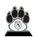 Birchwood Paw Print Sports Award Trophy w/ Black Base