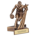 Male Basketball Superstar Resin Award Trophy
