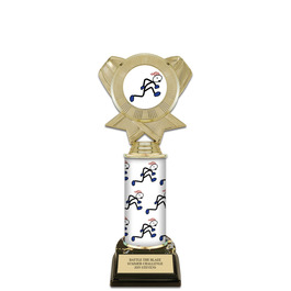 "10"" Design Your Own Sports Award Trophy w/ Black HS Base"