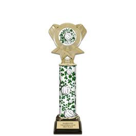 "12"" Design Your Own Sports Award Trophy w/ Black HS Base"