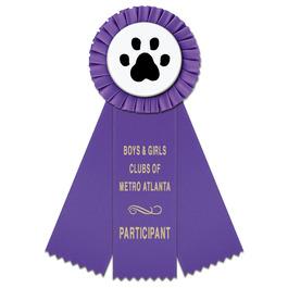 Mere Sports Rosette Award Ribbon