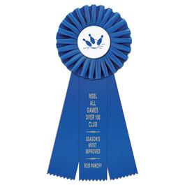 Clare Sports Rosette Award Ribbon