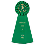 Ideal Sports Rosette Award Ribbon