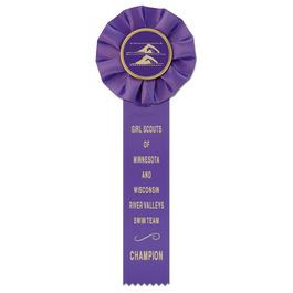 Empire 1 Sports Rosette Award Ribbon