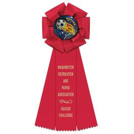 Beauty Sports Rosette Award Ribbon