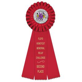 Luxury Sports Rosette Award Ribbon