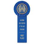 Little Rose School Rosette Award Ribbon