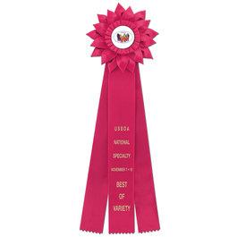 Sunburst Rosette Award Ribbon