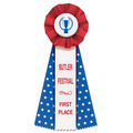 Superstar Rosette Award Ribbon
