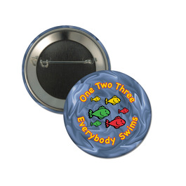 Custom Button Swim Buttons Hodges Badge
