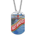 Full Color Swim Most Improved Dog Tag