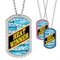 Full Color GEM Swim Heat Winner Dog Tag
