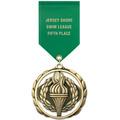 ES Swim Award Medal w/ Satin Drape Ribbon