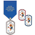 GEM Tag Swim Award Medal w/ Satin Drape