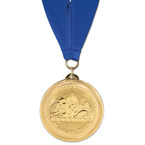 BL Swim Award Medal w/ Grosgrain Neck Ribbon