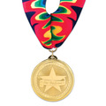 BL Swim Award Medal w/ Millennium Neck Ribbon
