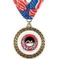 GFL Swim Award Medal w/ Millennium Neck Ribbon