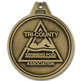 HG Swim Award Medal