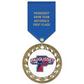 RS14 Swim Award Medal w/ Satin Drape