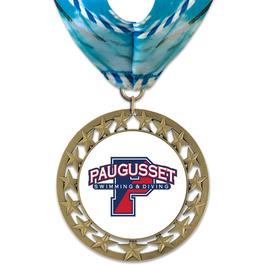 RS14 Swim Award Medal with Millennium Neck Ribbon