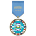 RSG SwimAward Medal w/ Satin Drape