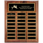 Walnut Perpetual Swim Award Plaque