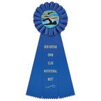 Ideal Swim Rosette Award Ribbon