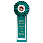 Alton Swim Rosette Award Ribbon