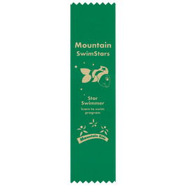 Pinked Top Award Ribbon