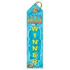 Heat Winner Swimming Award Ribbon