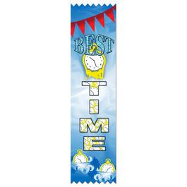 Best Time Swimming Award Ribbon